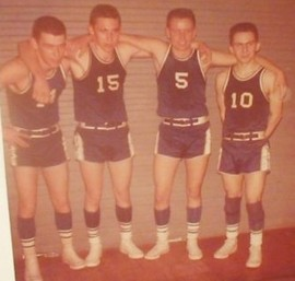 OCHS Class of 1961 Boys Basketball Players