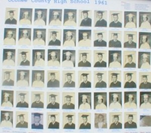 OCHS Class of 1961 Individual Pictures