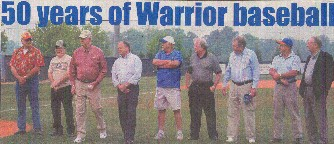 1957-2007 Fifty Years of Warrior Baseball
