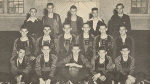 Boys Basketball Team 1950 Bogart
