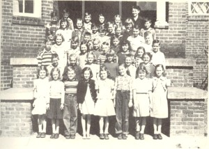 4th Grade Watkinsville 1949-50- Margaret Johnson