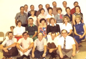 OCHS Class of 1958 - 20th Reunion 1978
